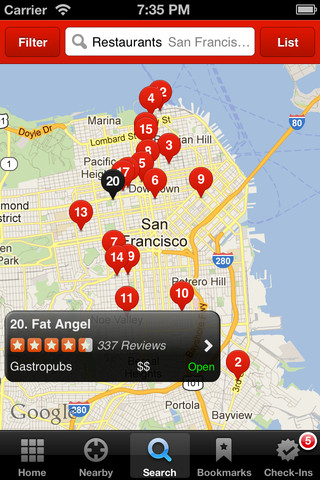 Yelp App Gets New Business Page, Yelpy Insights, iPad Enhancements