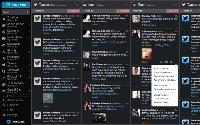 TweetDeck for Mac Has Been Redesigned With a New Sidebar on the Left
