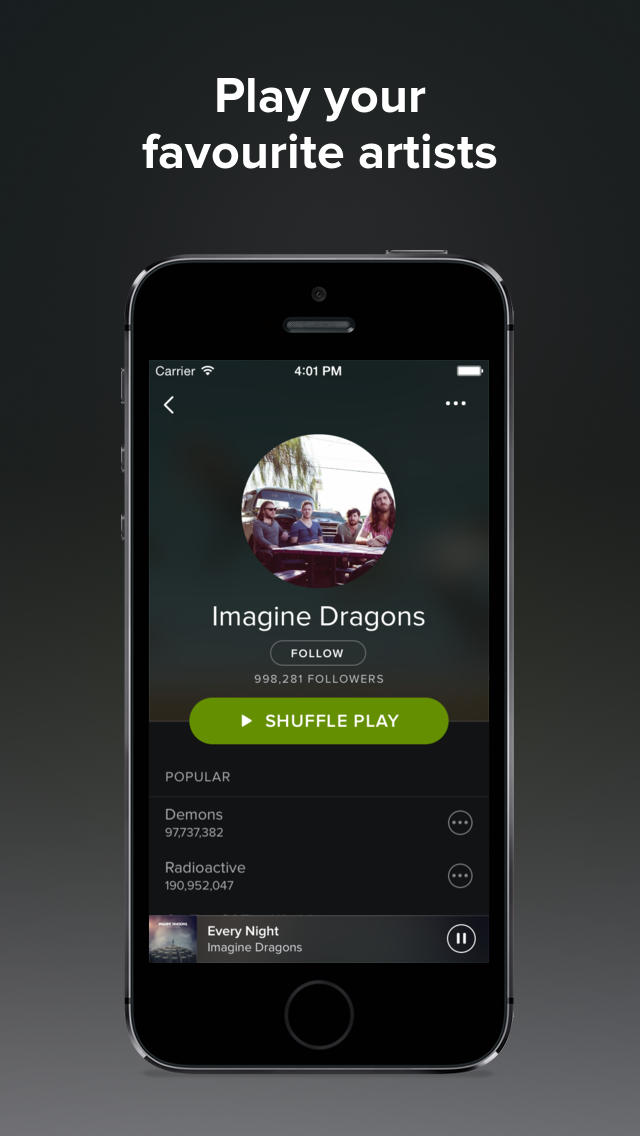 Spotify Music Gets Updated With New Darker Theme, Refreshed Typography and Rounded Iconography