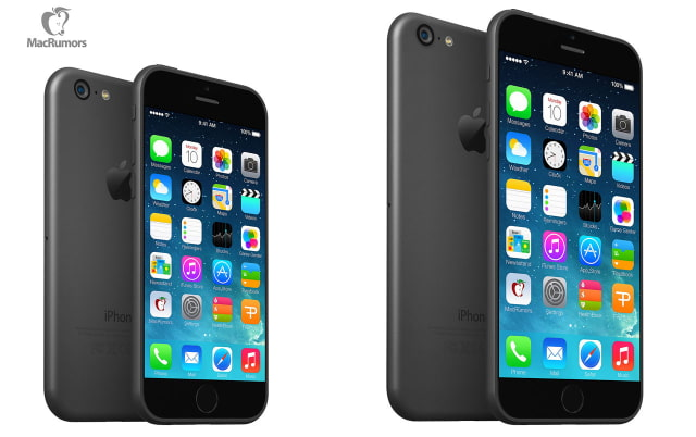New iPhone 6 Renders Based on Leaked Schematics [Images]