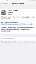 Apple Seeds iOS 10.2 Beta 7 to Developers [Download]