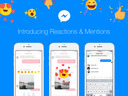 Facebook Announces Message Reactions and Mentions for Messenger
