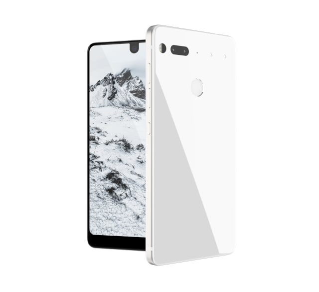 Andy Rubin Unveils 'Essential Phone' With Near Edge-to-Edge Display