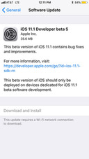 Apple Releases iOS 11.1 Beta 5 to Developers for Testing [Download]