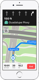 Apple Maps Now Supports Lane Guidance in Five More Countries