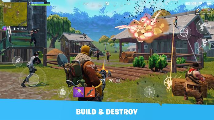 Fortnite for iOS Adds Support for MFi Game Controllers