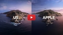 Friends Journey to Recreate macOS Catalina Wallpaper [Video]